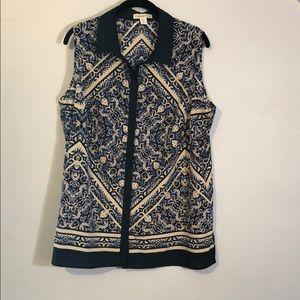 Coldwater Creek blouse size XL
